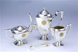 Japan royal sterling silver teapot tea set 5 piece set
