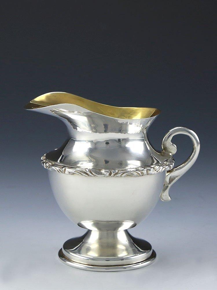 Mexican sterling silver teapot four-piece suit - 7
