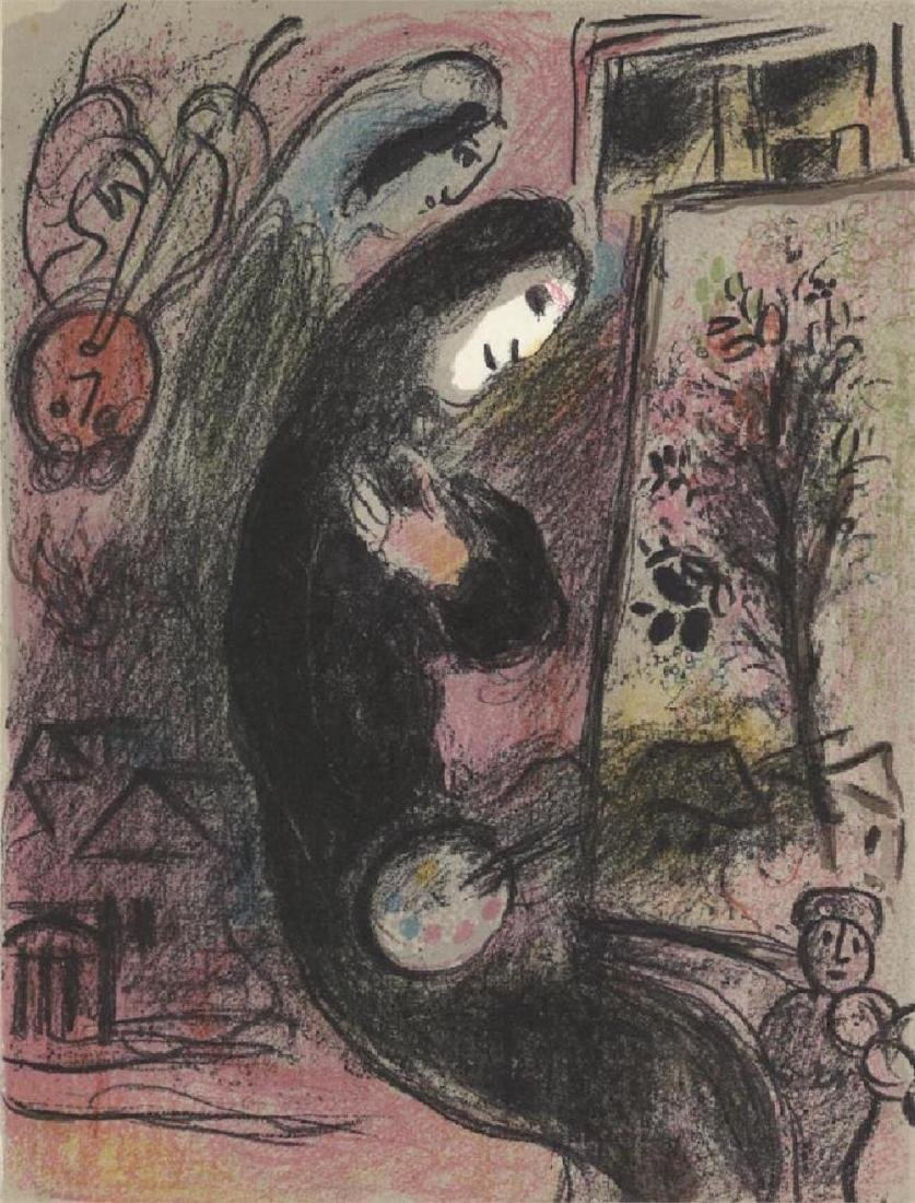 Inspiration from Chagall Lithographs II