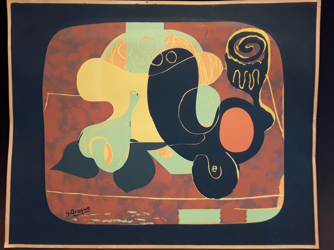 Georges Braque Woodcut