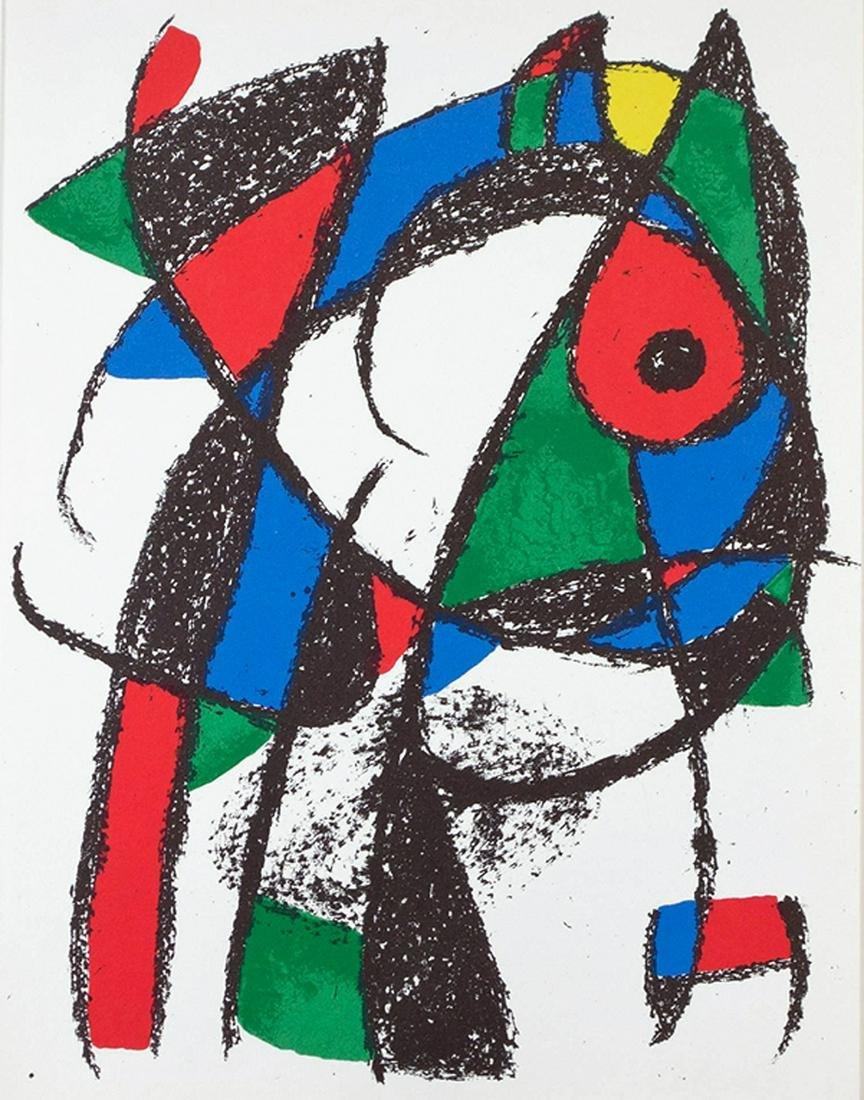 Joan Miro - Miro Engravings Volume II Plate I