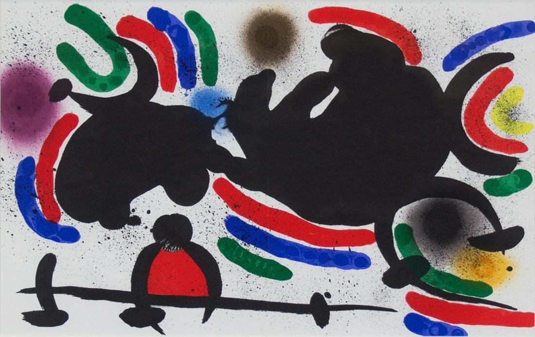 Joan Miro - Miro Lithograph Volume I Plate IV
