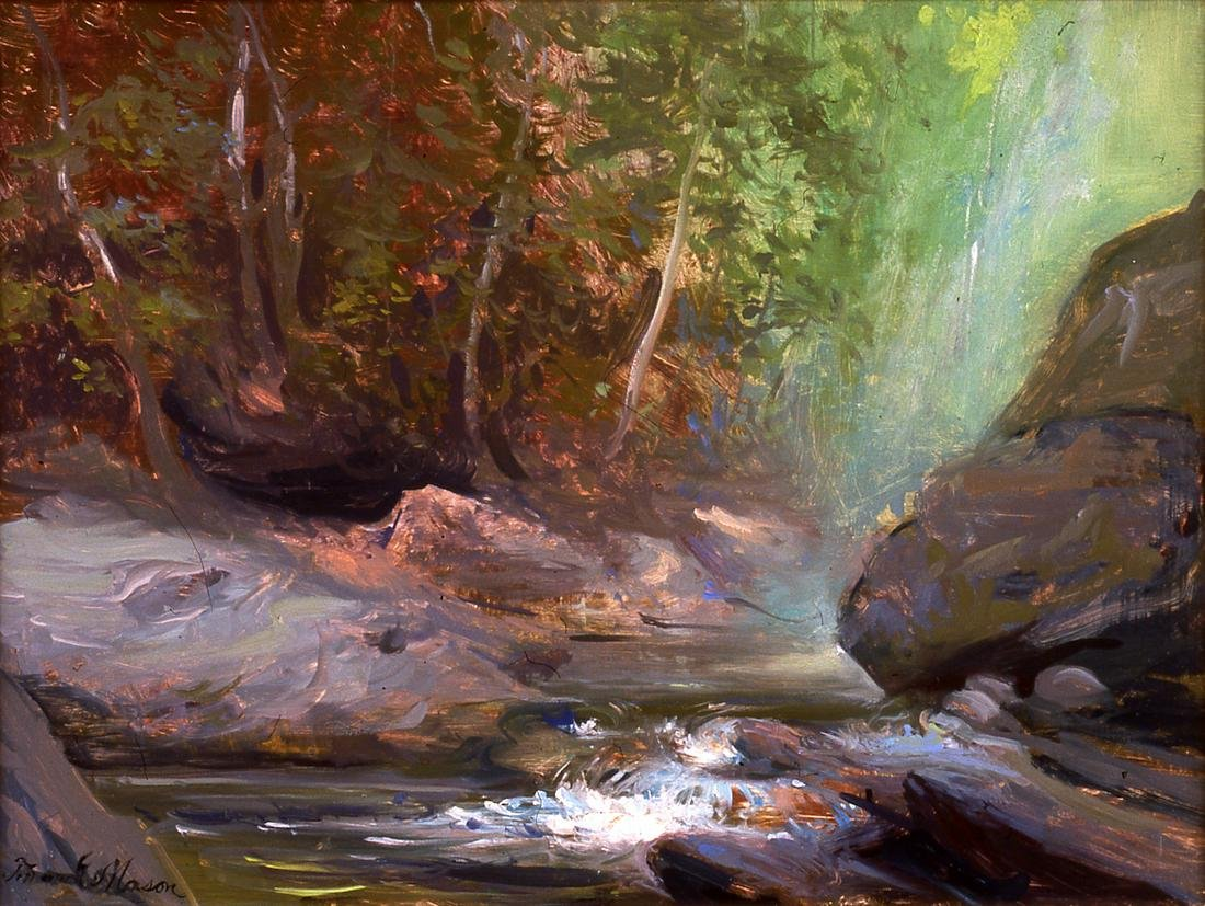 Frank Mason - Great Moss, Rock Glen, 2001