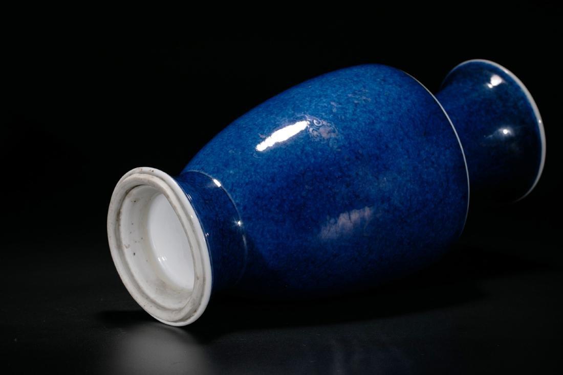 A Fine Blue-Glazed Vase - 4