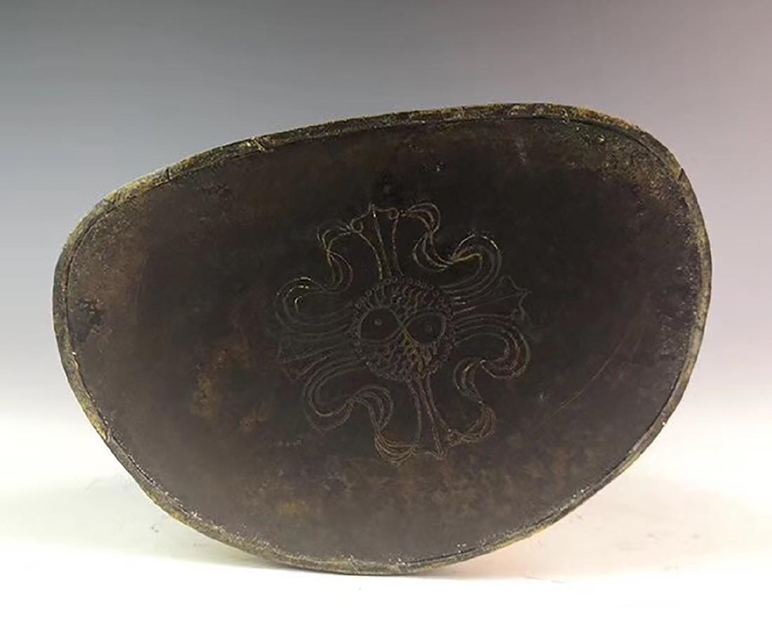 Yongle Marked Gilt-Bronze Figure of Buddha - 7