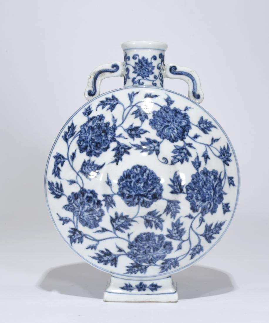 A Blue And White Vase - 3