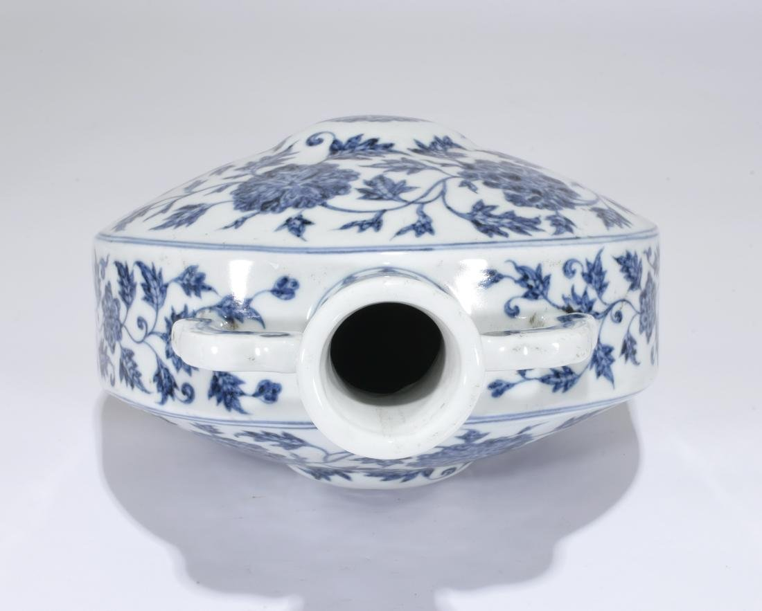 A Blue And White Vase - 5