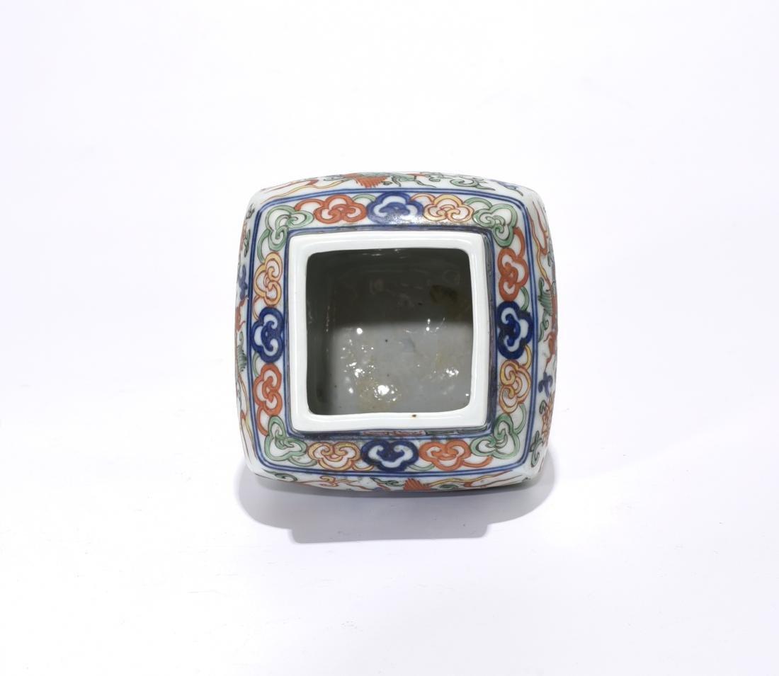 A Wanli Marked Doucai 'Dragon' Jar - 6