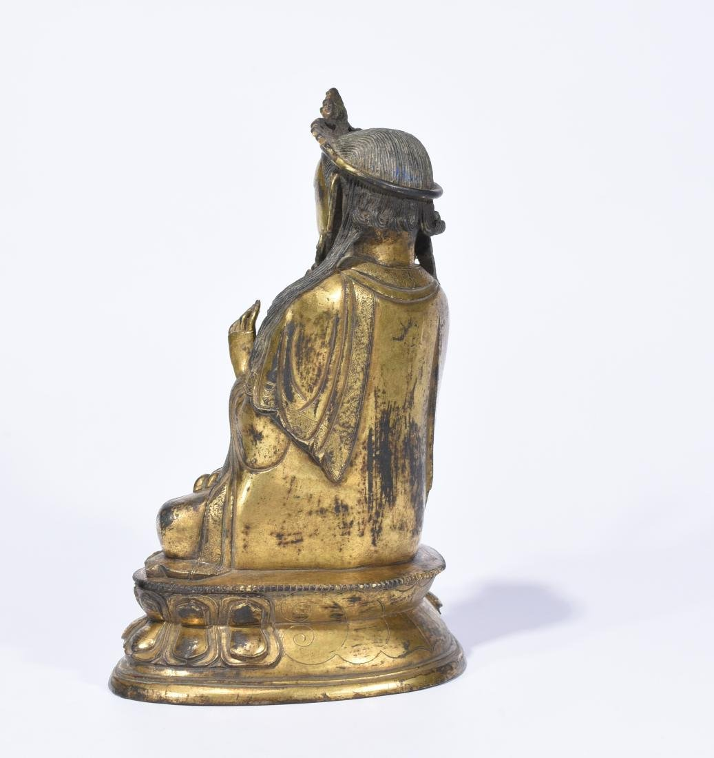 A Gilt-Bronze Figure of Guanyin - 4