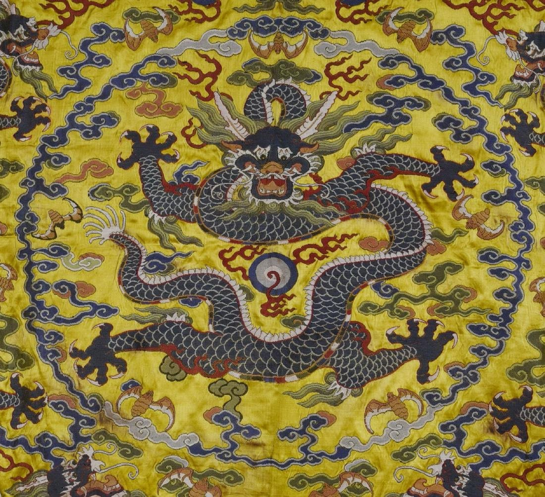 An Embroidery 'Five Dragon' - 2
