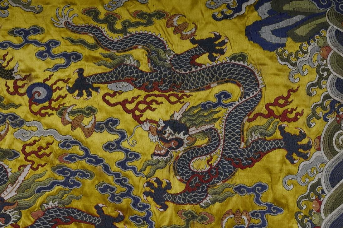 An Embroidery 'Five Dragon' - 3
