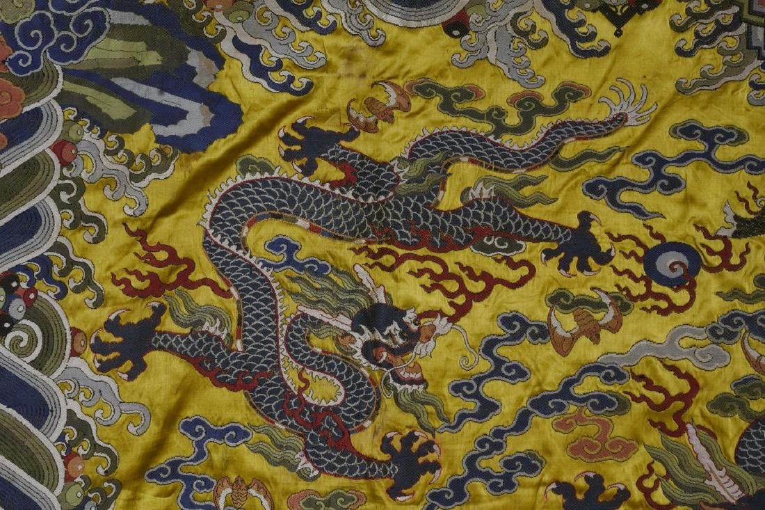 An Embroidery 'Five Dragon' - 4