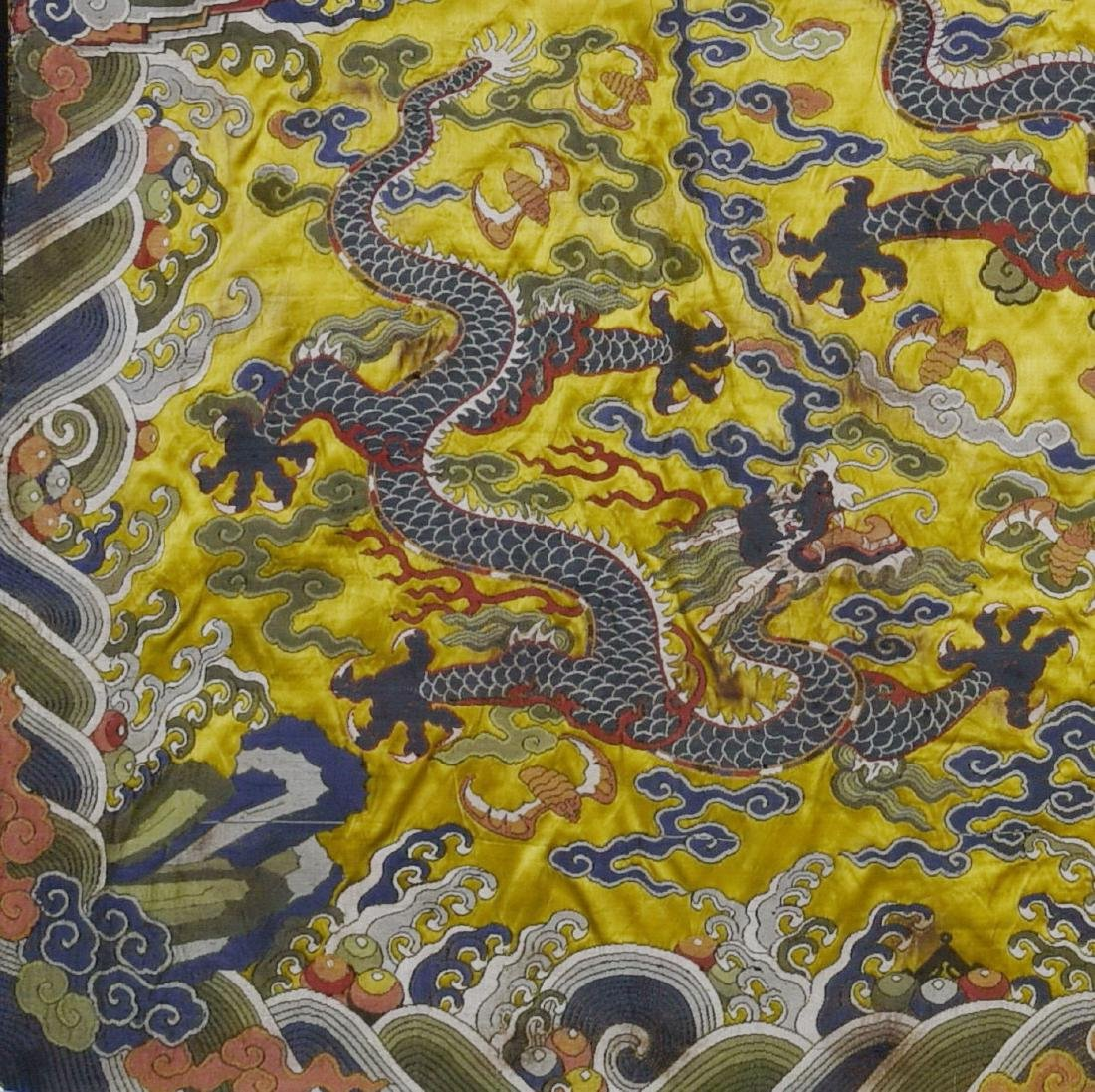 An Embroidery 'Five Dragon' - 6
