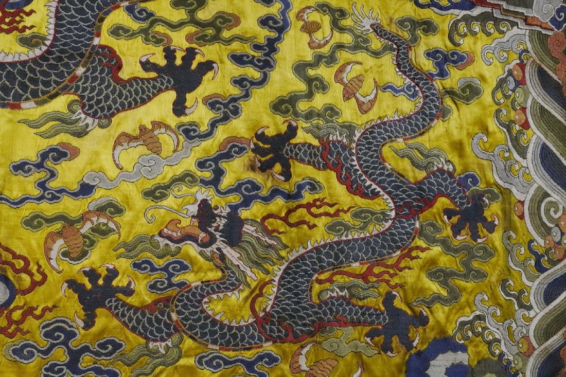 An Embroidery 'Five Dragon' - 7
