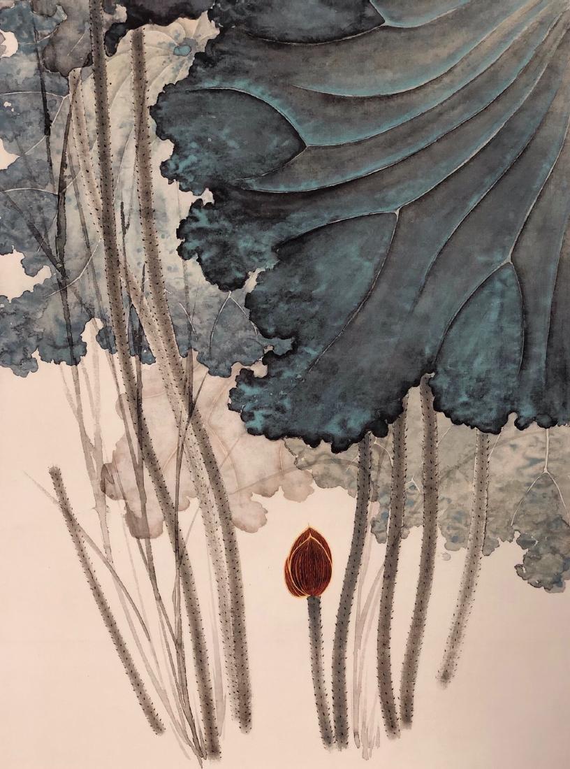 Zhang Daqian 'Lotus' - 4