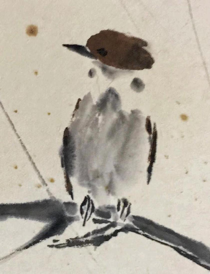 Xu Beihong 'Williow And Bird' - 4