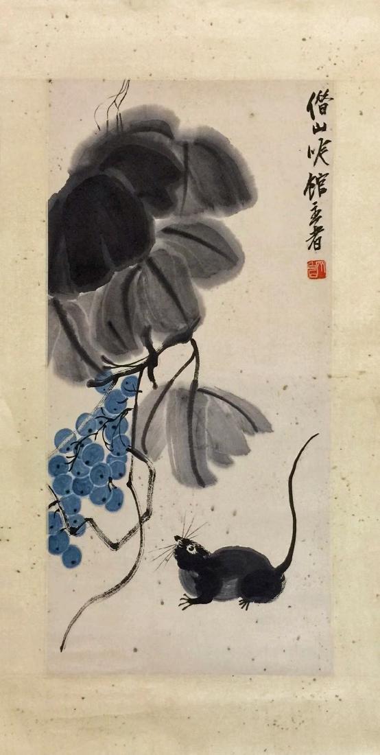 Qi Baishi 'Grapes'