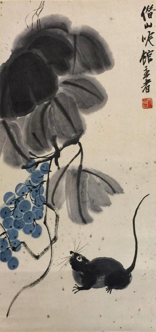 Qi Baishi 'Grapes' - 2