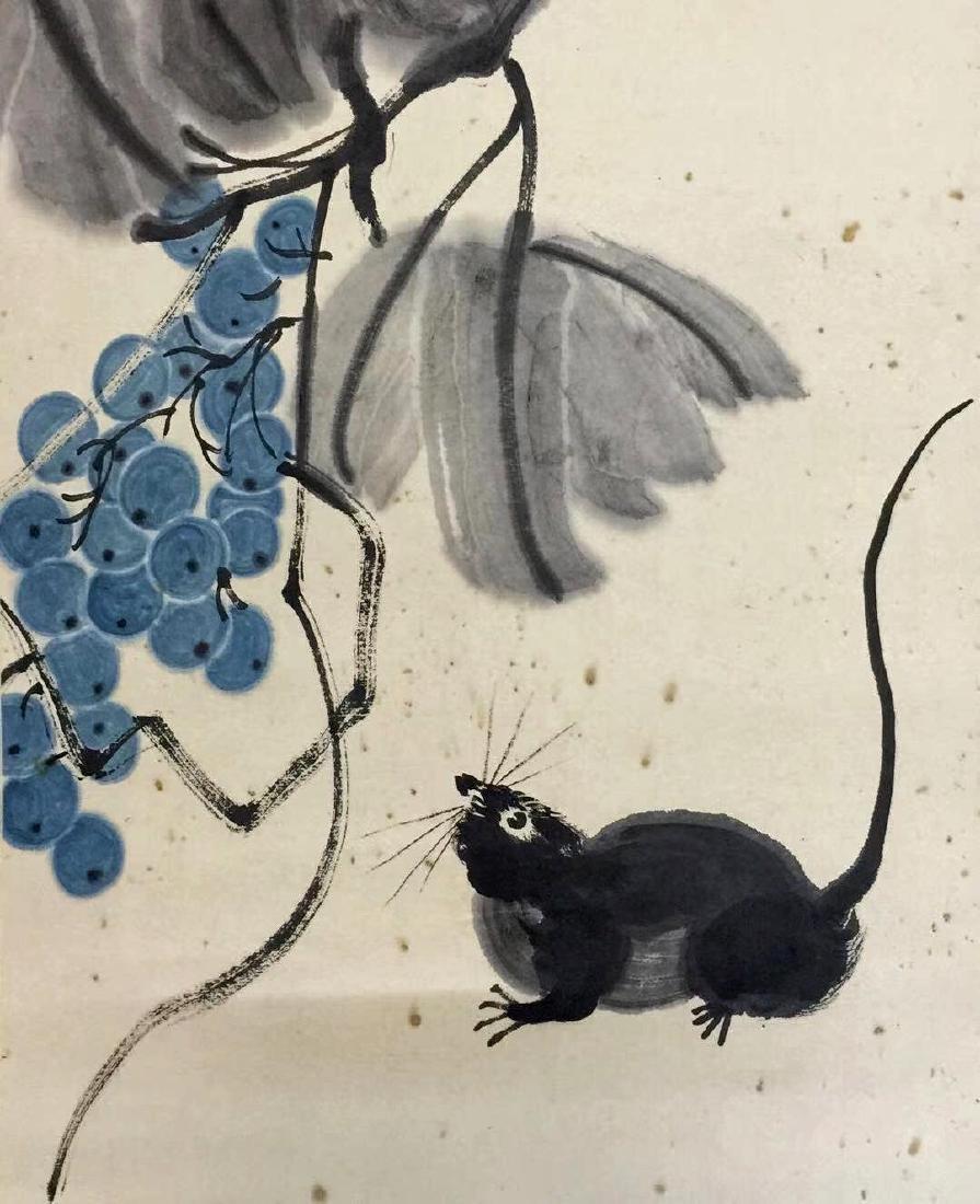 Qi Baishi 'Grapes' - 3
