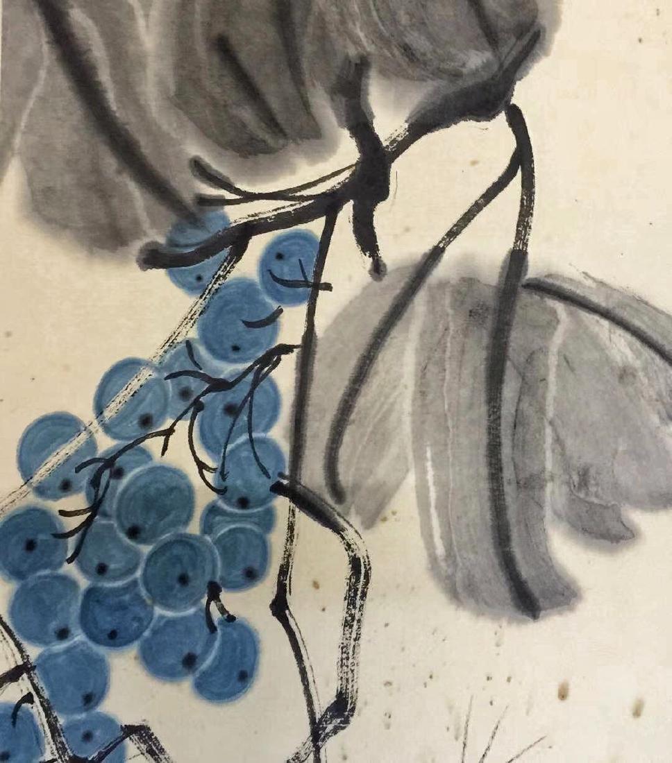 Qi Baishi 'Grapes' - 4
