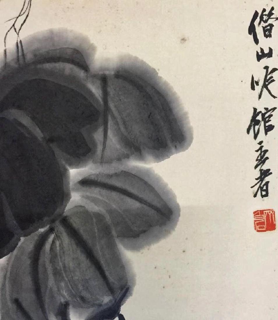 Qi Baishi 'Grapes' - 5