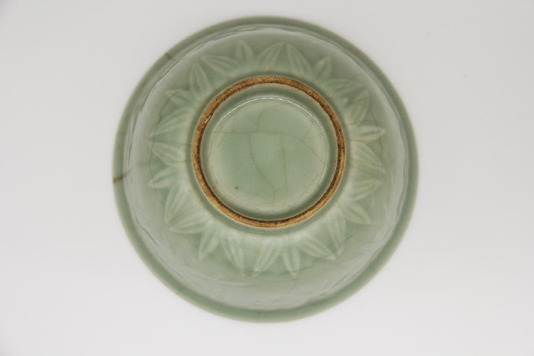 A Yue-Type 'Bamboo' Bowl - 3