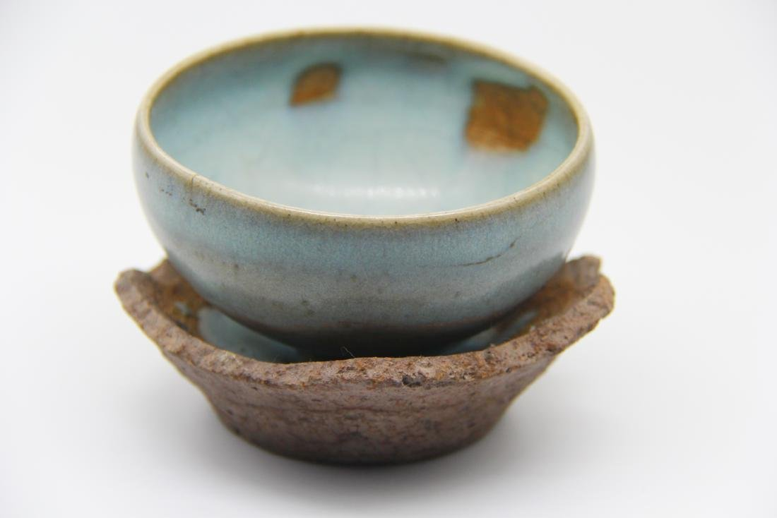 Song Jun-Type Bowl And Stand - 2