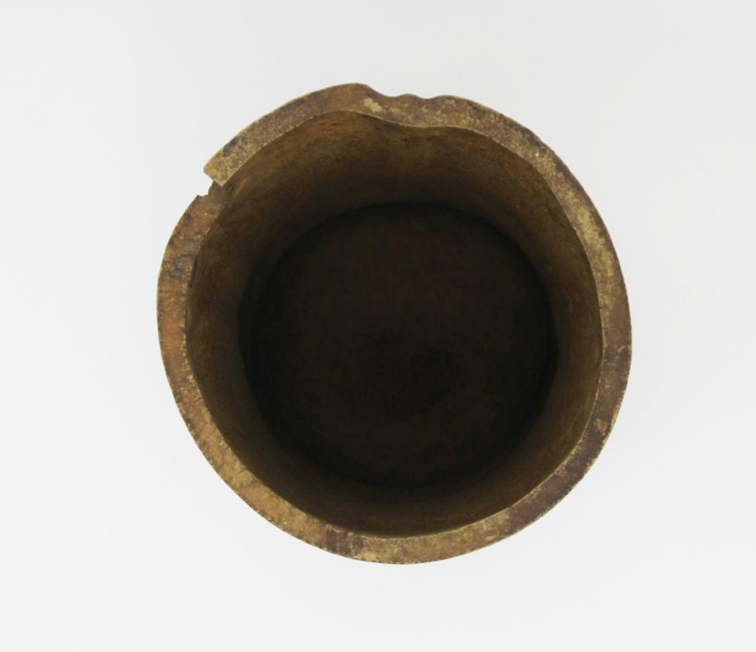 Xu Xiushang 'Bamboo' Yixing Brush Pot - 3