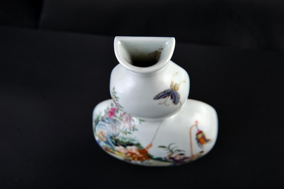 Qing Qianlong Marked Famille Rose Vase - 9