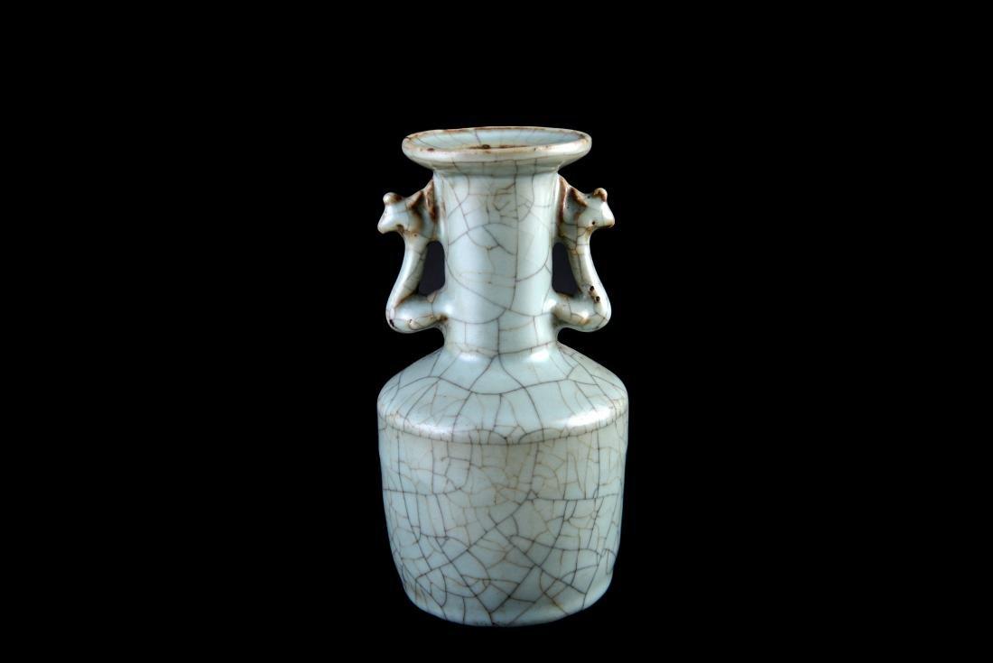 Song Ge-Type Double Handled Vase