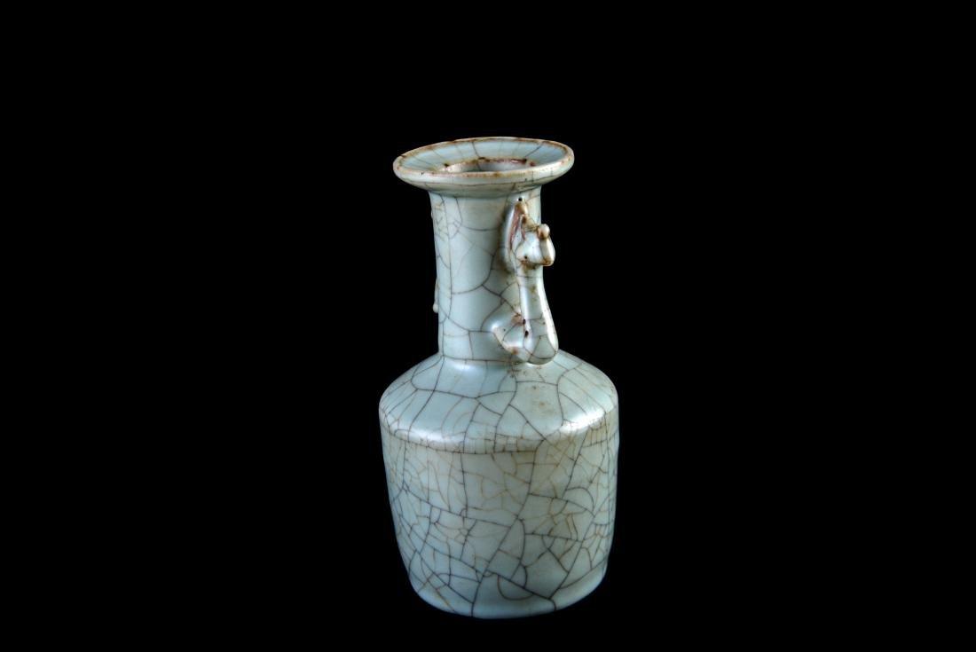 Song Ge-Type Double Handled Vase - 2