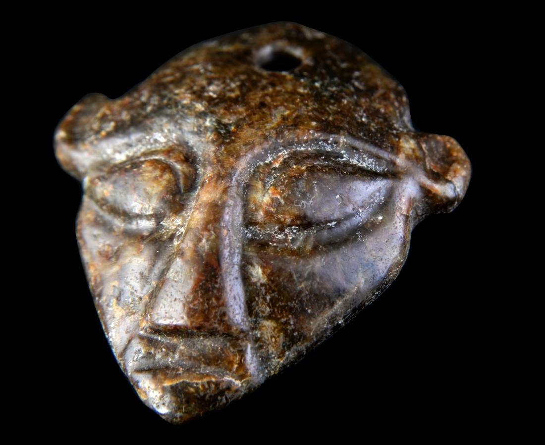 Repulic Jade Carved 'Figure' Pendant