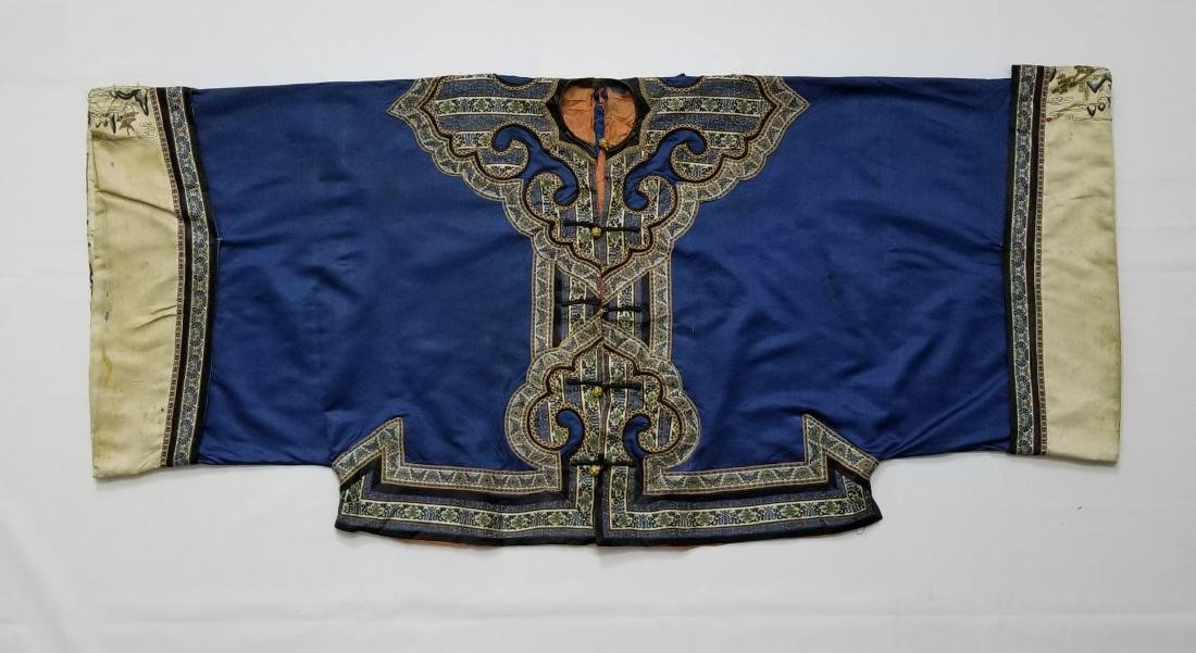 Antique Chinese Silk Woman's Robe