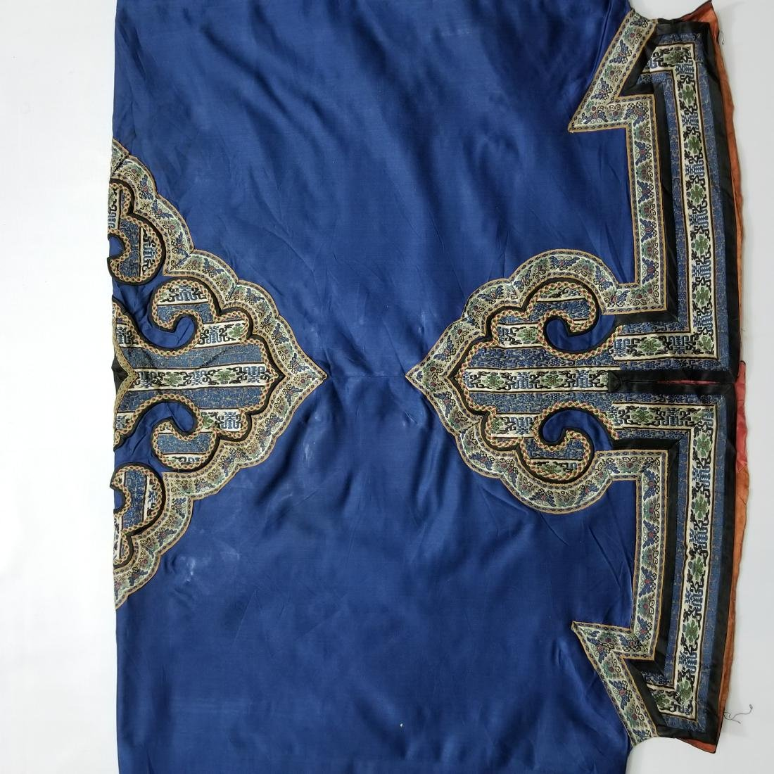 Antique Chinese Silk Woman's Robe - 6