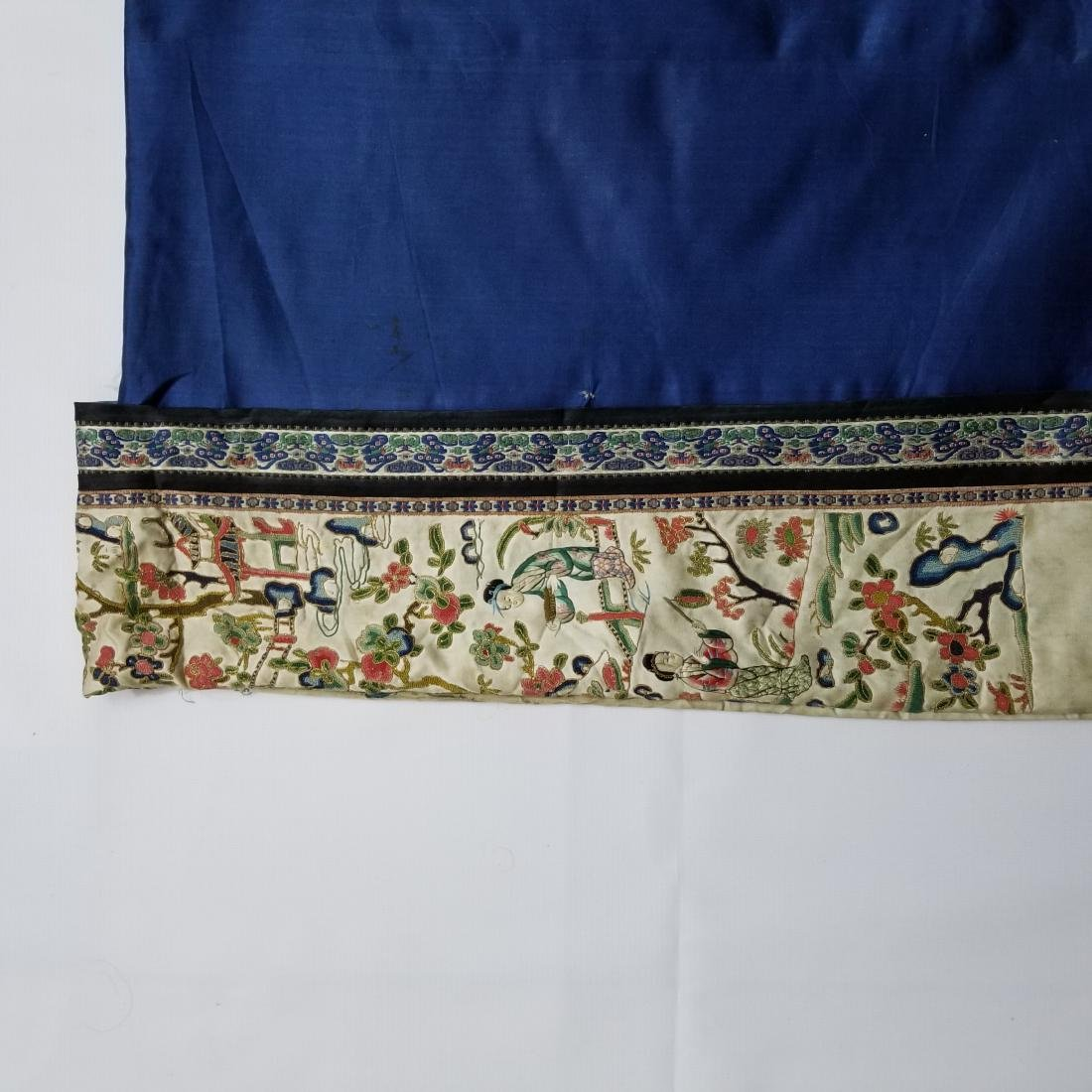 Antique Chinese Silk Woman's Robe - 7