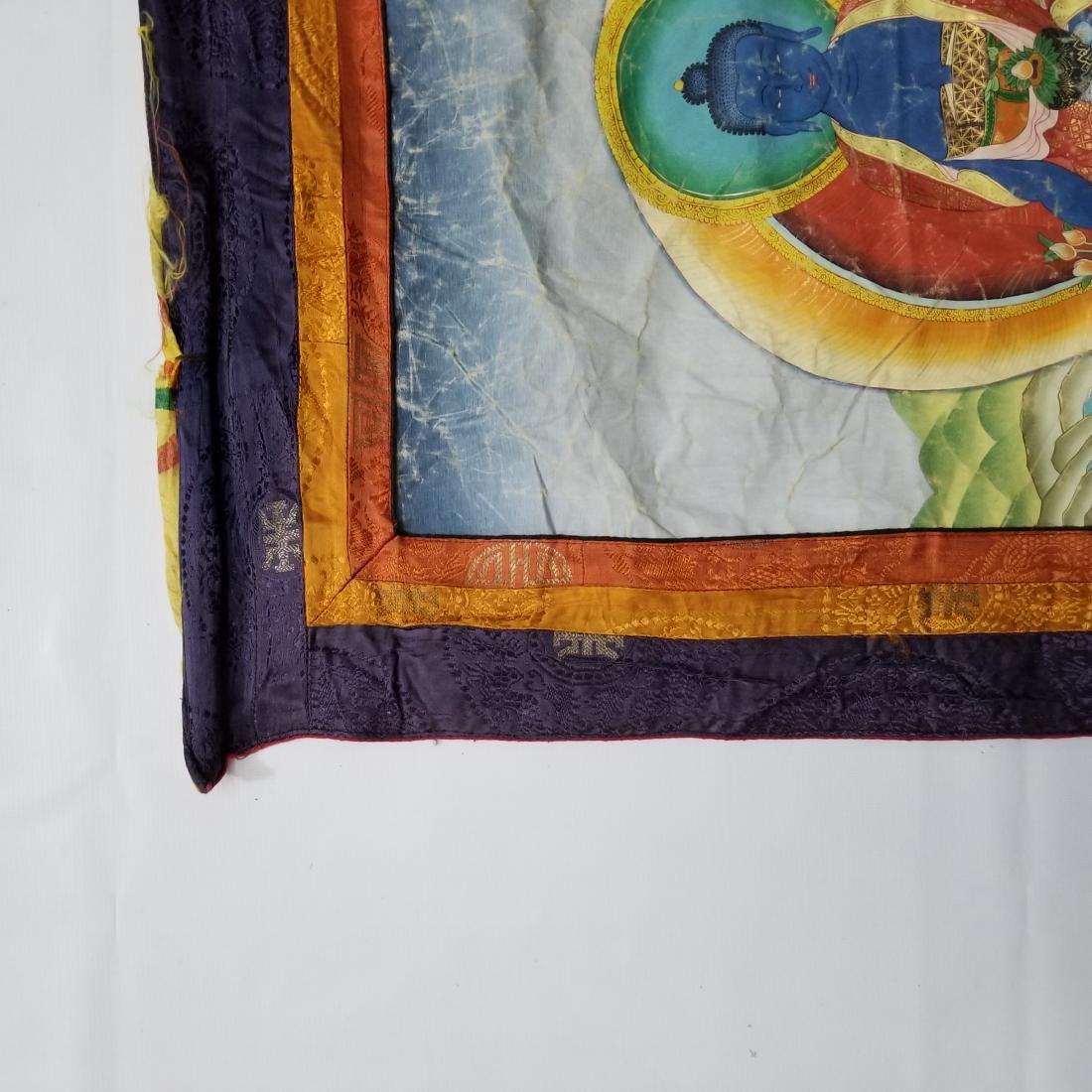 Antique Chinese Tibetan Thangka - 2