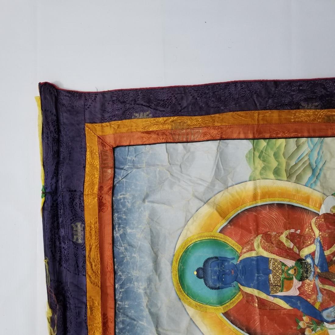 Antique Chinese Tibetan Thangka - 3
