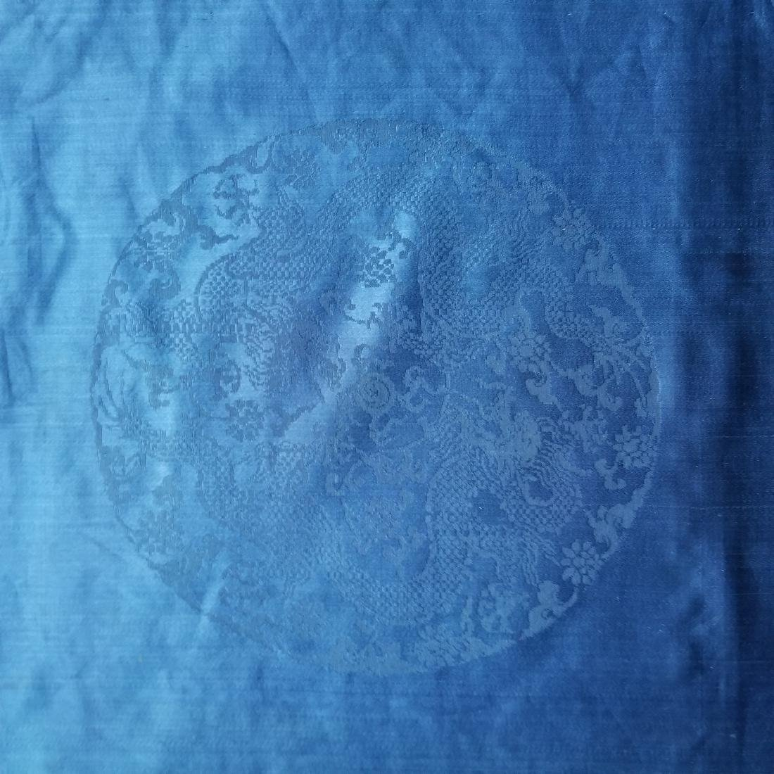 Antique Chinese Silk Robe with G T Marsh & Co. Stamp - 9