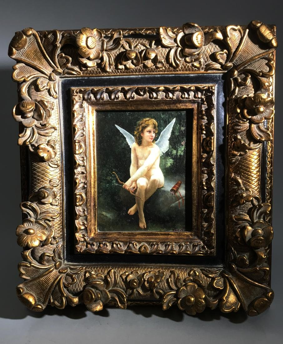 A Signed Western Painting 'Angel'
