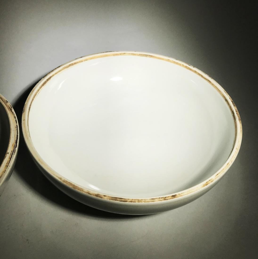 Marked Qianlong Famille Rose 'Nine Peach' Box - 6
