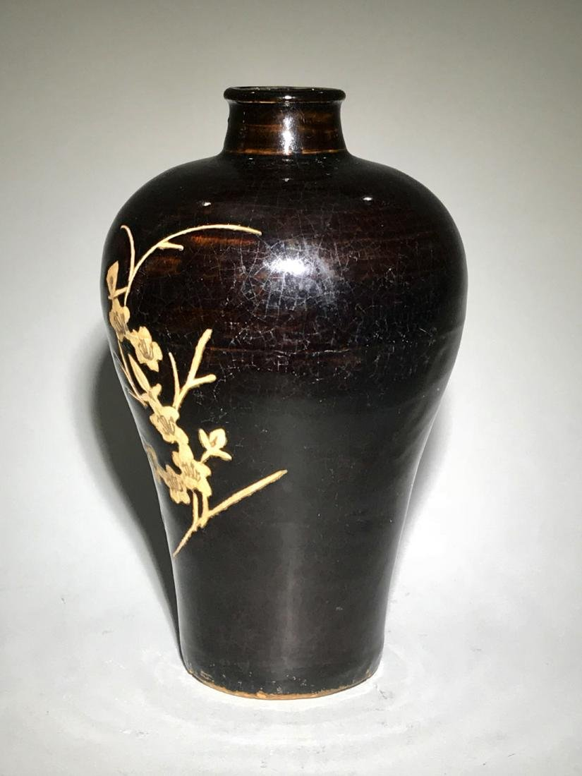 Cizhou Sgraffiato Vase - 6