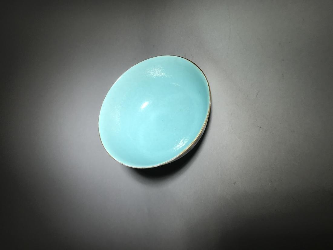 Qianlong Marked Yangcai Bowl - 4