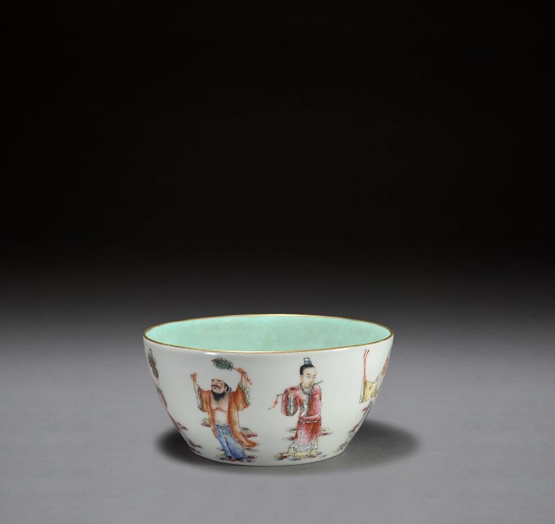 A Marked Qing Famille Rose Bowl