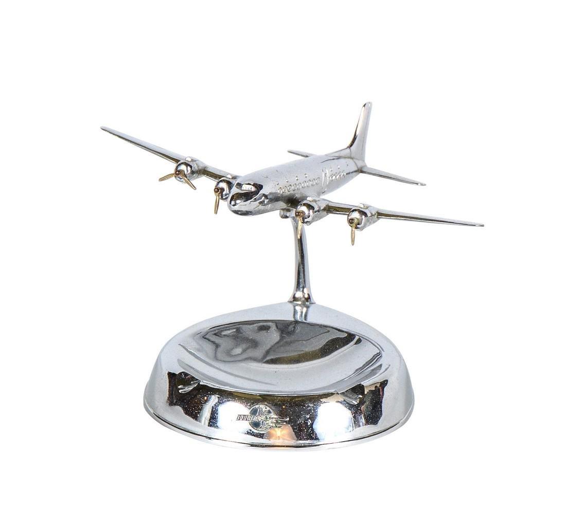 Metal Douglas Aircraft Promotional Executive Ashtray - 2