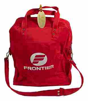 Frontier Airlines - RED FLIGHT BAG (3 tags)