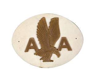 American Airlines Logo Ticket Counter Display Sign