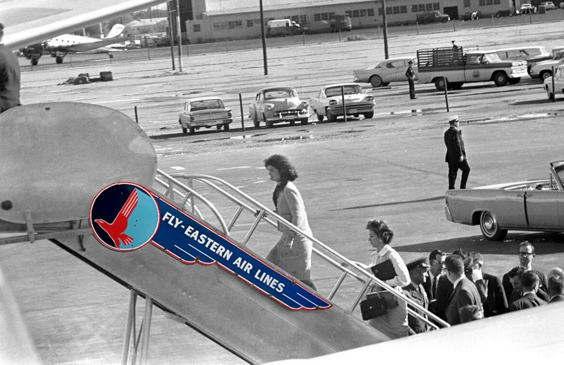 Eastern Airlines JFK Dallas Love Field Air Force One - 7