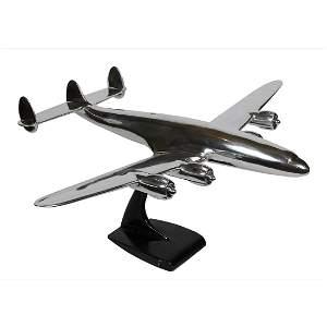 1940s TWA Lockheed Constellation Model on Base