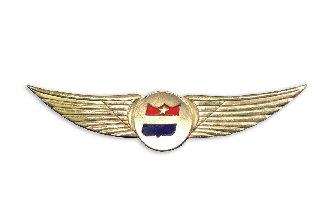 1960s United Airlines Stewardess Flight Wings Pin