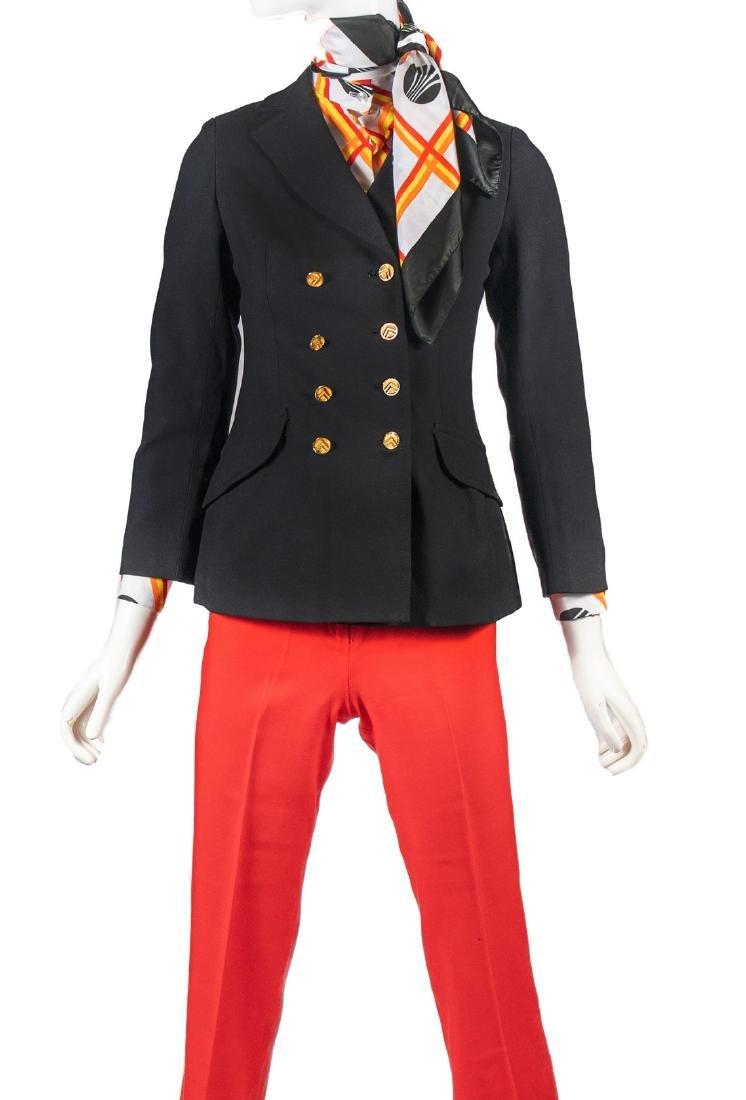 Continental Airlines 1979 Joyce Dixon Winter Uniform